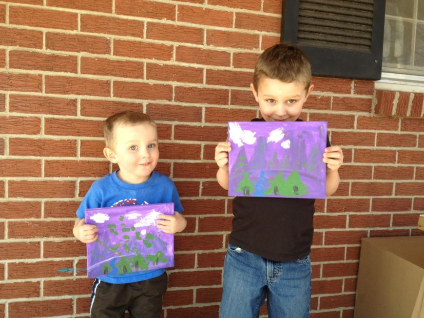 m and k painting